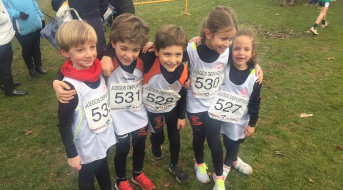 Excelentes resultados de los atletas de Agustinos en el  III Cross escolar de Calahorra