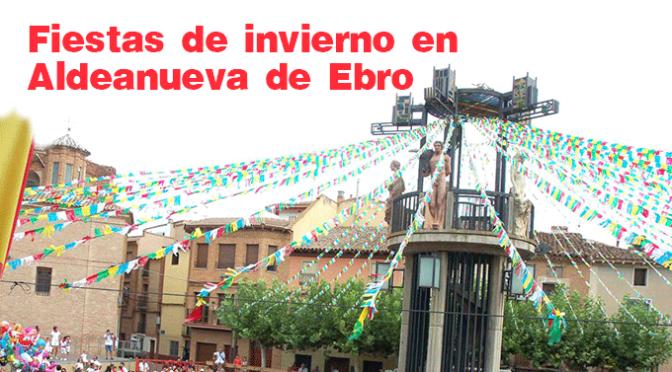 Fiestas de invierno en Aldeanueva de Ebro