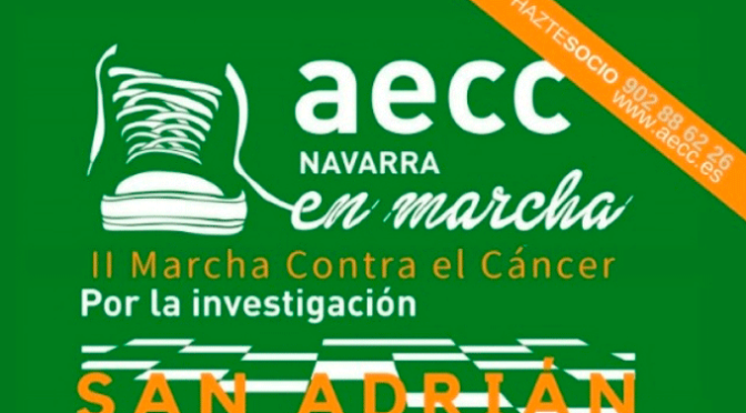 II Marcha contra el cáncer en San Adrián