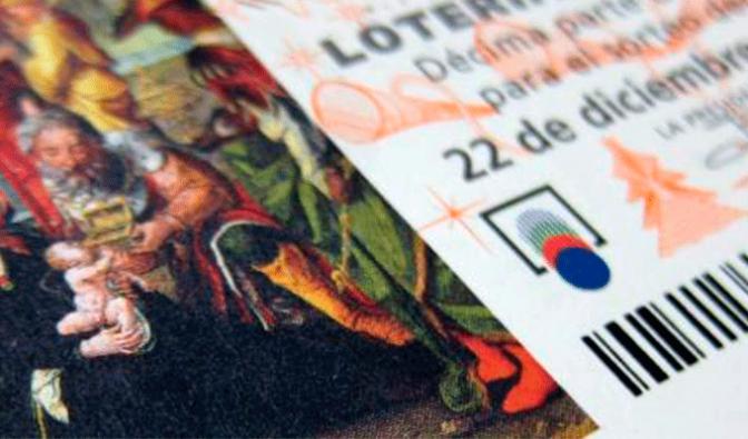 Pago lotería de la asociacion Belén Viviente de Calahorra
