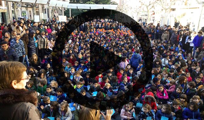 El colegio Teresianas celebra el Dia de la paz
