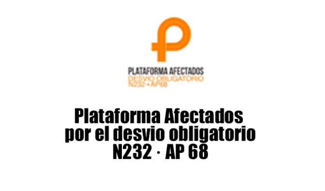 Nace la Plataforma de empresas afectadas por el desvío de los camiones de la N 232 a la AP 68