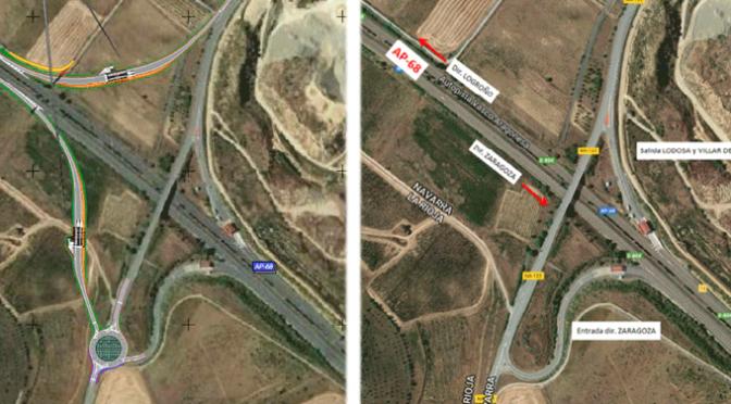 Proyecto para completar el enlace de la autopista AP-68 en Lodosa