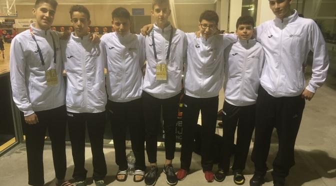 Finaliza el campeonato de España infantil y cadete de seleccones