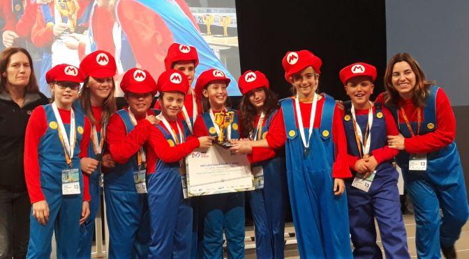 """Premio a """"Jóvenes promesas"""" para La Milagrosa en la Fist lego leage"""