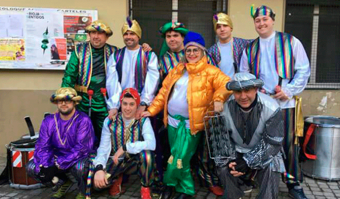 Batukada Street de gira carnavalera