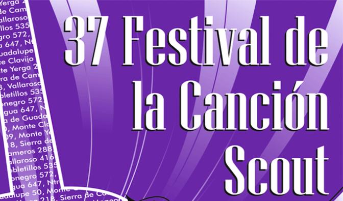 Festival de la canción Scout en Calahorra