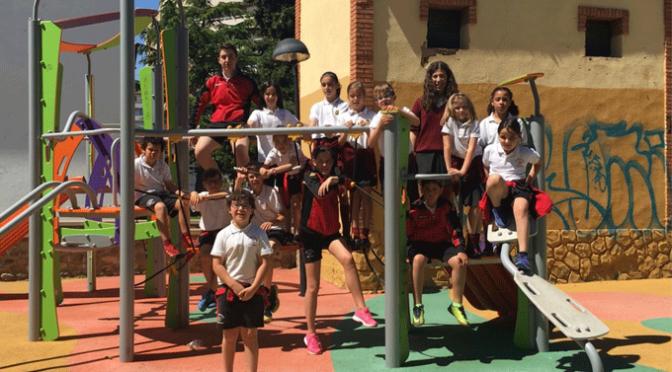 Alumnos de Agustinos elaboran un folleto sobre los parques de Calahorra
