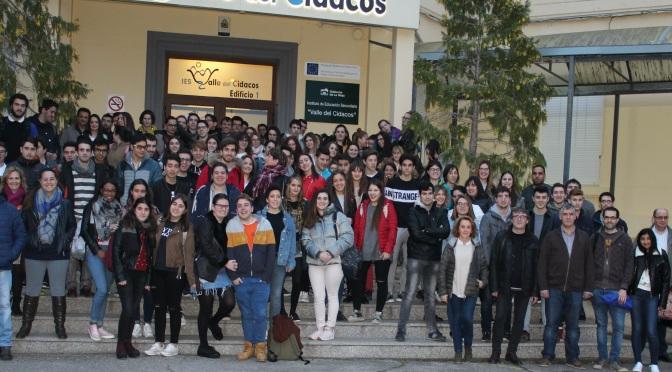 Profesores y alumnos del IES Valle del Cidacos continuan con las concentraciones
