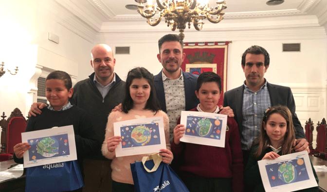 Premiados cuatro escolares de Calahorra por sus ideas para reutilizar las aguas residuales
