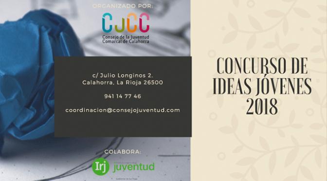 Nuevo concurso de Ideas Jóvenes 2018