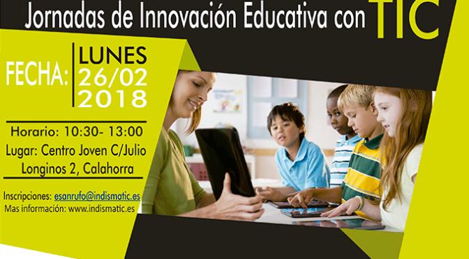 Jornadas de innovación educativa con TIC