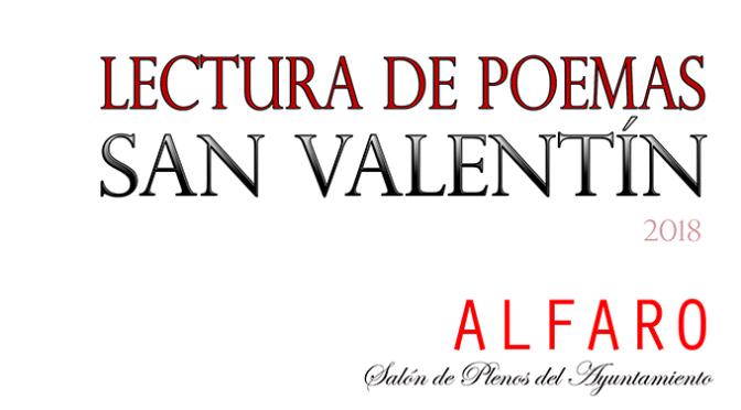 Lecturas de poemas por San Valentín