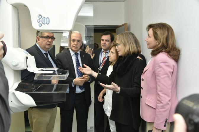 La Fundación Hospital de Calahorra  hereda el mamógrafo del San Pedro