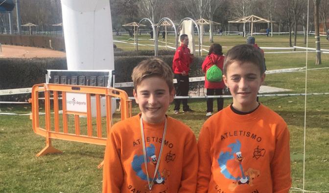 Mikel Abad se proclama vencedor de la Final de Cross Escolar de La Rioja