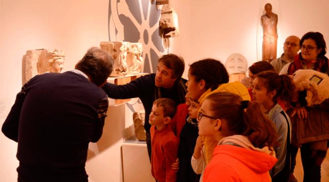 Visita al museo de La Rioja de los alumnos de Javier Garrido
