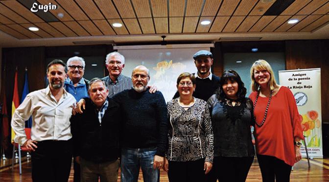 """San Valentín y """"Amigos de la Poesía de la Rioja Baja"""""""