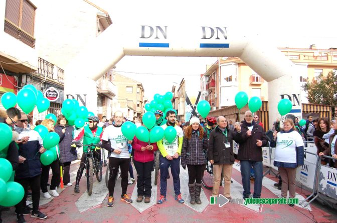 Cerca de 1000 personas se dieron cita el domingo en San Adrián en la II Carrera contra el cáncer