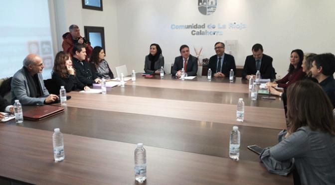 Reunión para abordar la posible creación de un Centro Integrado de FP en la localidad.