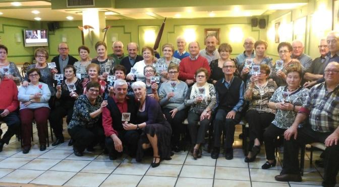 Los jubilados de Pradejón celebraron Carnavales y San Valentín
