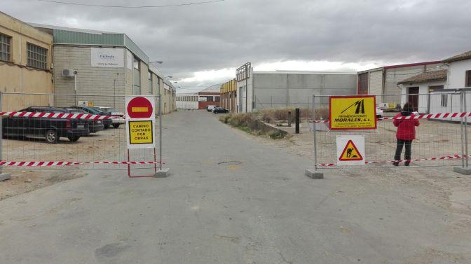 Comienzan las obras de urbanización de la calle Algarrada