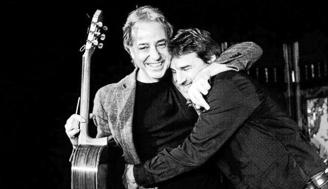Alberto San Juan y Fernando Egozcue, hoy en el Ideal