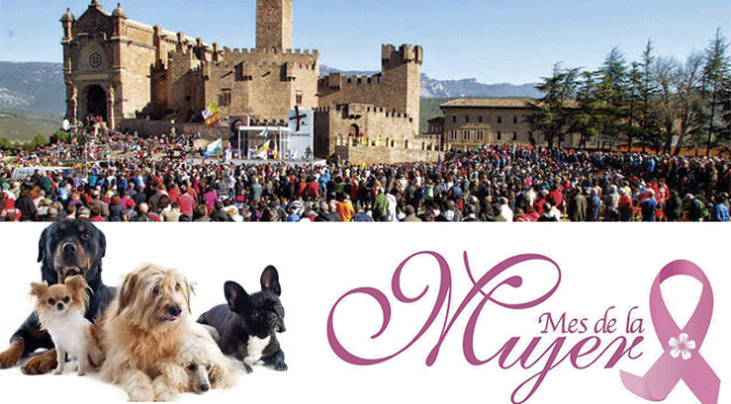 Mes de la mujer, exhibición canina, Javierada… Esta semana en Azagra