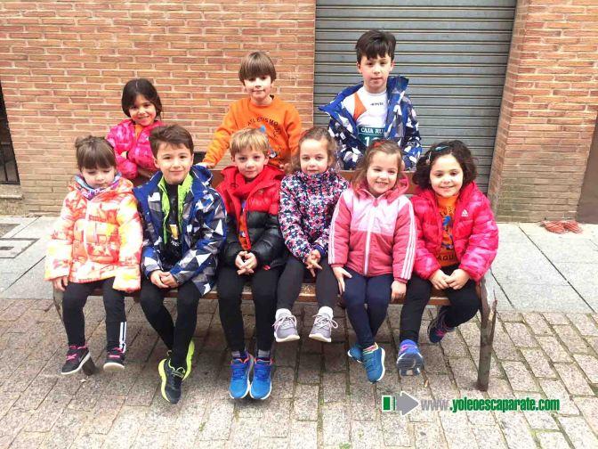 El atleta de Agustinos, Mikel Abad consigue el primer puesto en categoría Infantil