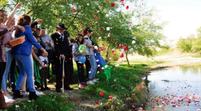 Celebración del Dia Internacional del pueblo gitano en San Adrián