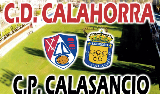 Y el domingo, partido del CD Calahorra