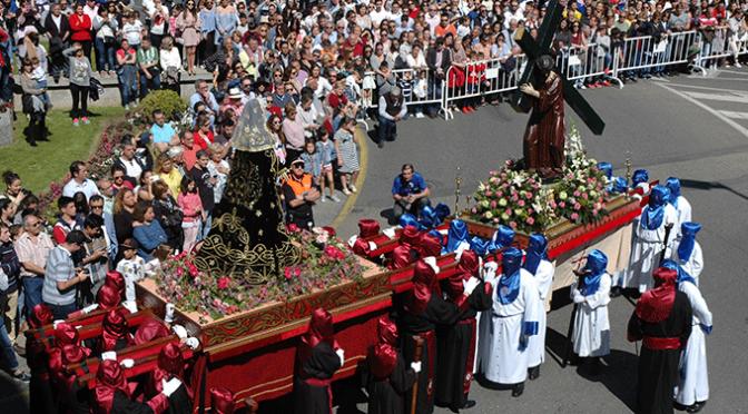 Actos de Jueves Santo en Calahorra