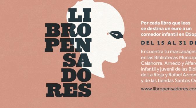 """Recaudados 903 euros dentro la campaña solidaria """"Libropensadores"""