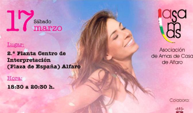 Charla – taller – coaching para mujeres el sábado en Alfaro