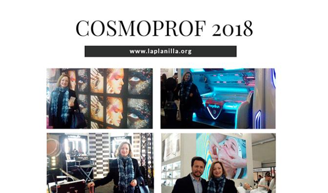 El centro FP La Planilla visita el salón Cosmoprof 2018