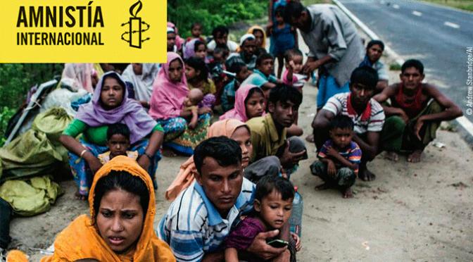 #Rohingya, Crisis Paremos la limpieza étnica en Myanmar