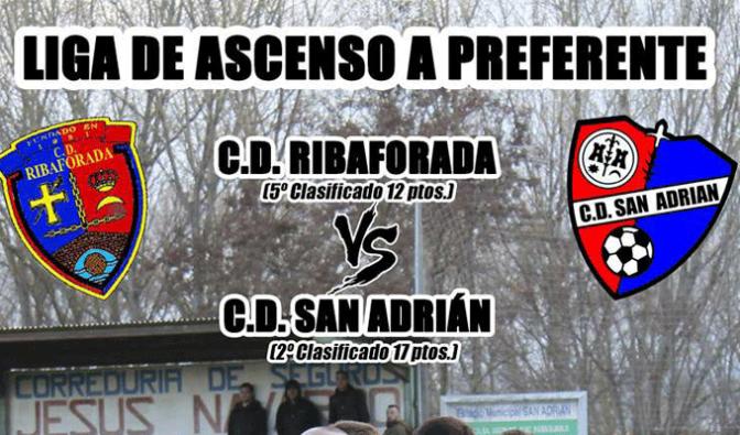 Viaje para apoyar al CD San Adrián que  continua luchando por el ascenso