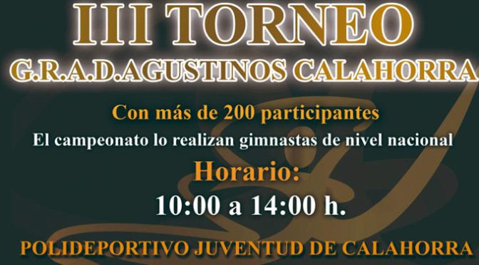 III Torneo G.R.A.D.Agustinos el domingo