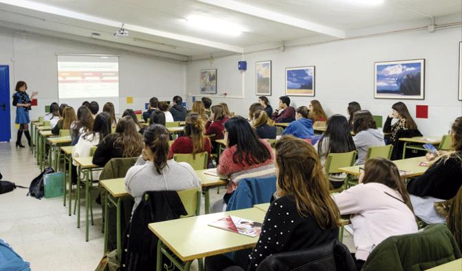 Sesiones informativas en el IES Gonzalo de Berceo de Alfaro