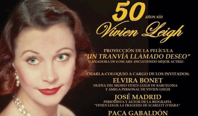 50 años sin Vivien Leigh
