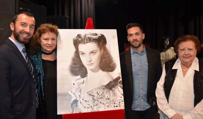 Gran éxito del homenaje a Vivien Leigh