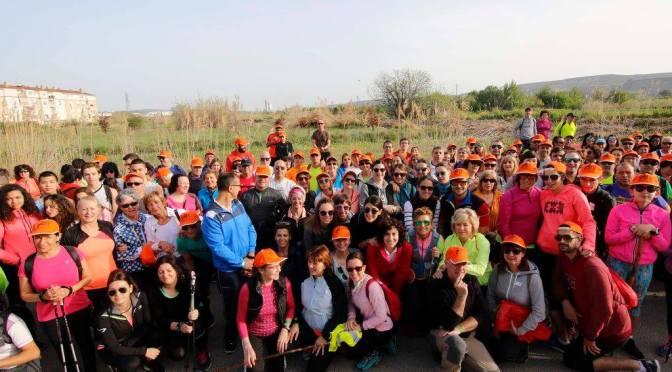 Cerca de 250 participantes ayer en la IV Marcha a pie Villa de San Adrían
