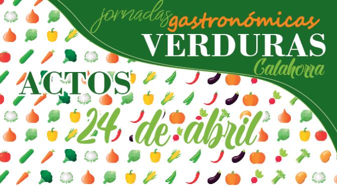 Agenda XXII Jornadas Gastronómicas de la Verdura para hoy martes, 24 de abril
