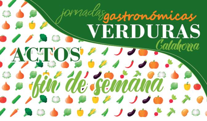 XXII Jornadas Gastronómicas de la Verdura. Agenda para el fin de semana