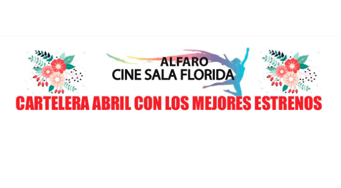 Una muy completa programación de cine para el mes de abril en la Sala Florida