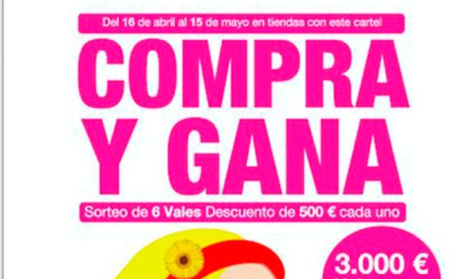 """El 16 de abril comienza la campaña  """"Compra y gana"""" en Calahorra"""