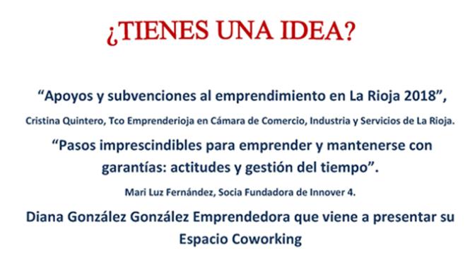 Nuevo taller gratuito para emprendedores el 10 de abril