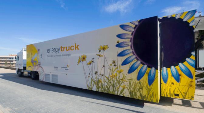 Pradejón acoge el Energy truck, exposición itinerante sobre energía