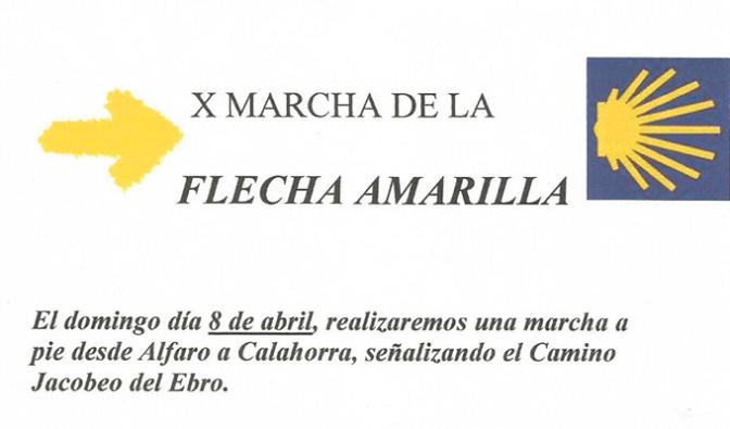 X Marcha de la Flecha Amarilla