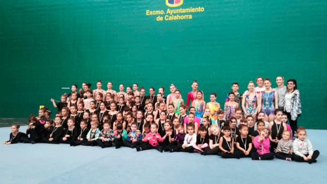 Exhibiciones del Club gimnasia rítmica A.D. Agustinos de Calahorra