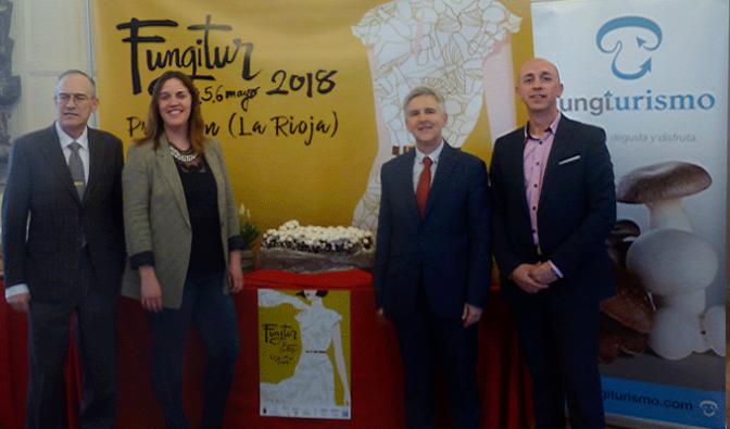 Presentada la VI Feria Fungitur de Pradejón